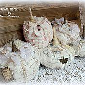 Для дома и интерьера ручной работы. Ярмарка Мастеров - ручная работа Винтажные тыковки. Handmade.