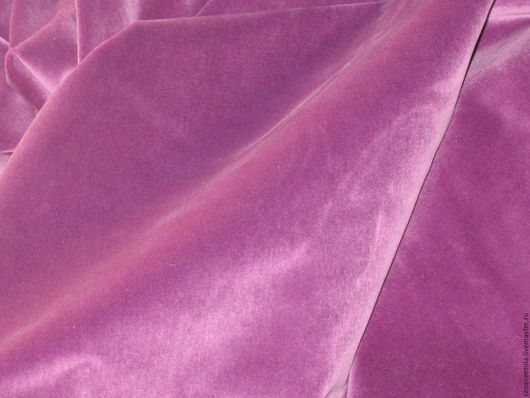 Реставрация. Ярмарка Мастеров - ручная работа. Купить винтажный бархат. цвет ярко-сиреневый.. Handmade. Винтажный бархат, винтажные ткани