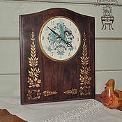 """Для дома и интерьера ручной работы. Ярмарка Мастеров - ручная работа Часы """"Сказочный лес"""". Handmade."""