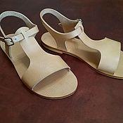 Обувь ручной работы handmade. Livemaster - original item women`s sandals. Handmade.