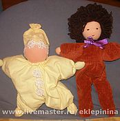 Куклы и игрушки ручной работы. Ярмарка Мастеров - ручная работа куклы для малышей. Handmade.