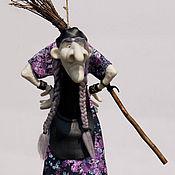 Куклы и игрушки ручной работы. Ярмарка Мастеров - ручная работа Кукла Баба-Яга. Handmade.