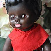 Винтаж handmade. Livemaster - original item Vintage black doll. Handmade.