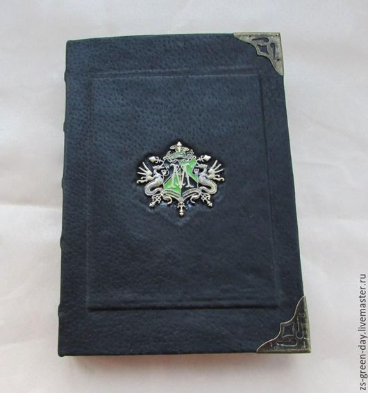 Блокноты ручной работы. Ярмарка Мастеров - ручная работа. Купить Личный дневник.... Handmade. Черный, металлическая фурнитура