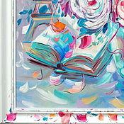 Картины ручной работы. Ярмарка Мастеров - ручная работа Авторская рама Прованская с локальной росписью. Рама на заказ. Handmade.