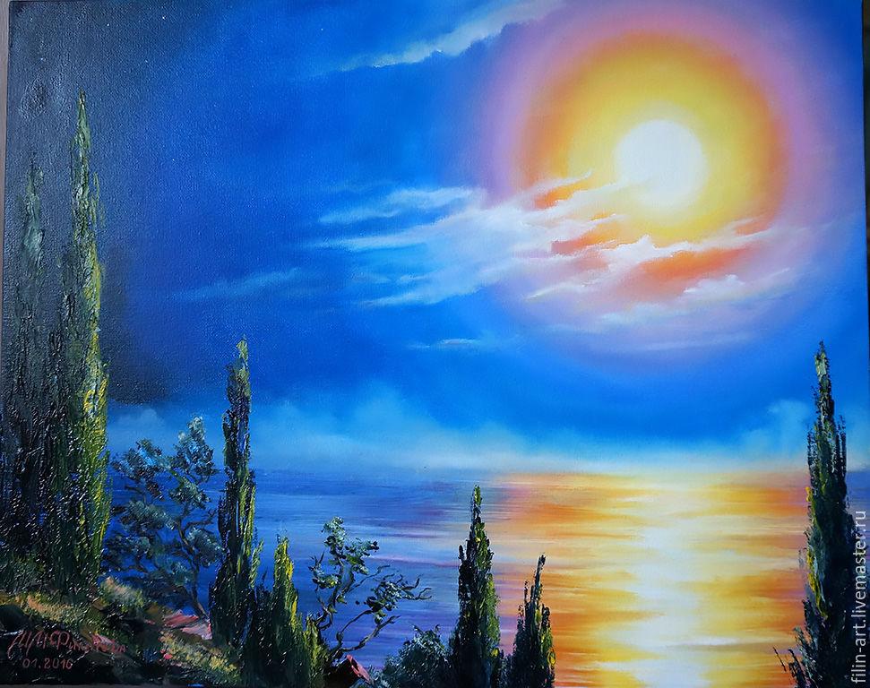 Картинка солнце художник