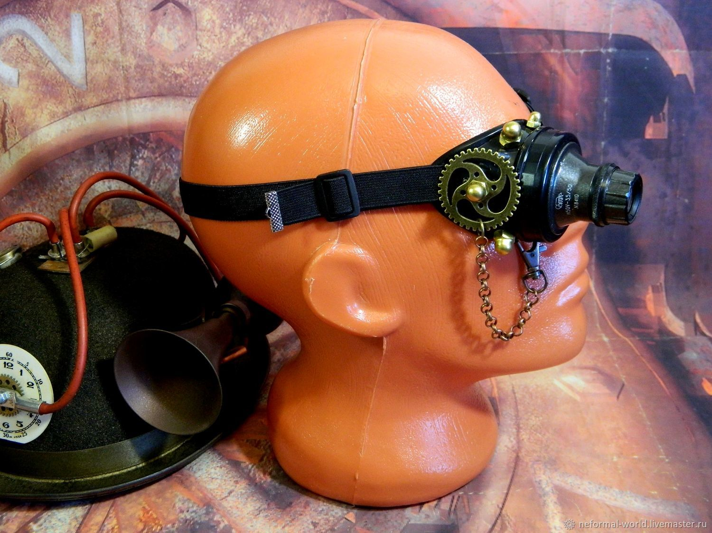 "Monocle Steampunk ""SCIENTIST CYBER-45"", Subculture Attributes, Saratov,  Фото №1"