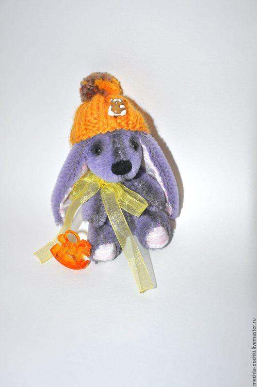 Мишки Тедди ручной работы. Ярмарка Мастеров - ручная работа. Купить Зайчик Стёпа 10 см. Handmade. Комбинированный