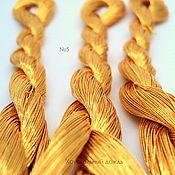 №5 Японские нитки, красное золото