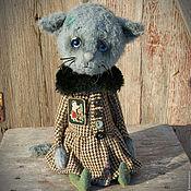 Куклы и игрушки ручной работы. Ярмарка Мастеров - ручная работа Марыся. котенок тедди котик тедди. Handmade.
