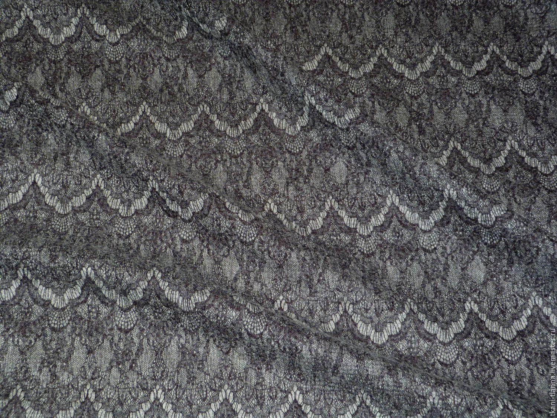 Кружево в вязаном трикотаже