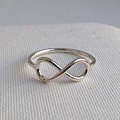 Украшения handmade. Livemaster - original item Silver ring Infinity. Handmade.