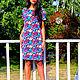 Платья ручной работы. Платье геометрия. Ирина. Ярмарка Мастеров. Фото №5