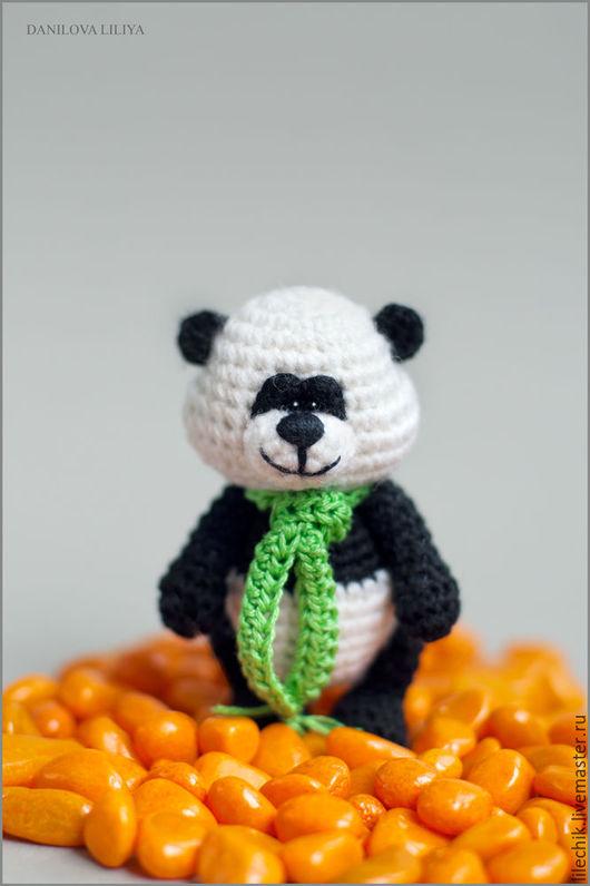 Игрушки животные, ручной работы. Ярмарка Мастеров - ручная работа. Купить Панда. Handmade. Чёрно-белый, панда крючком