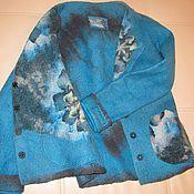 Одежда ручной работы. Ярмарка Мастеров - ручная работа Авторский валяный жакет-пиджак. Handmade.