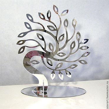 Для дома и интерьера ручной работы. Ярмарка Мастеров - ручная работа Зеркальное дерево. Handmade.