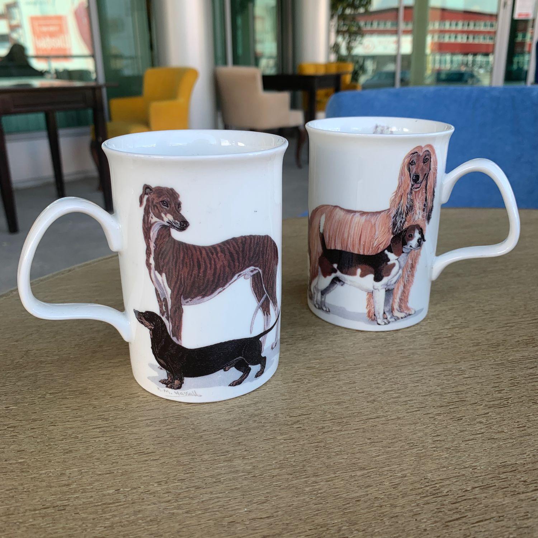 Vintage:  Dogs Galore porcelain mug (4993), Vintage mugs, Tyumen,  Фото №1