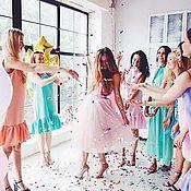 Одежда ручной работы. Ярмарка Мастеров - ручная работа Платья подружек невесты на заказ. Handmade.