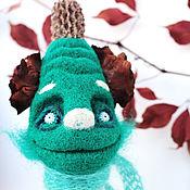 """Куклы и игрушки ручной работы. Ярмарка Мастеров - ручная работа войлочная игрушка """"Кодама Болотный"""". Handmade."""