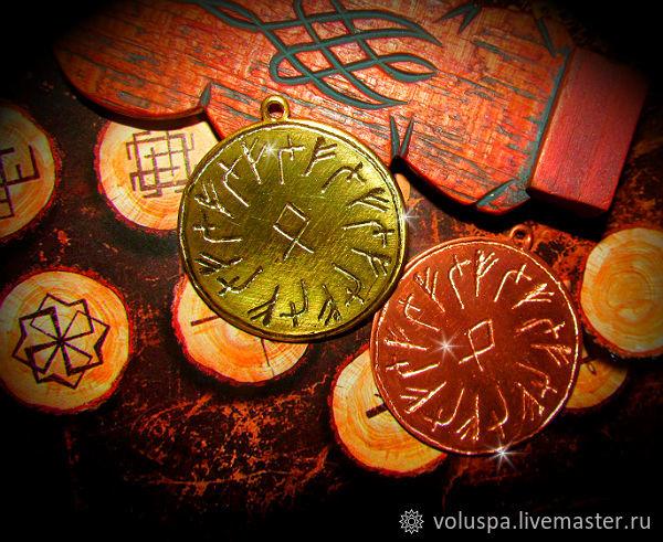 Talisman 'Cash whirlwind'the rune,'Mannheim', Amulet, Sochi,  Фото №1