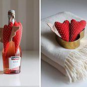 Подарки к праздникам ручной работы. Ярмарка Мастеров - ручная работа Сердечки. Handmade.