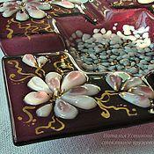 Для дома и интерьера handmade. Livemaster - original item A plate-glass ashtray