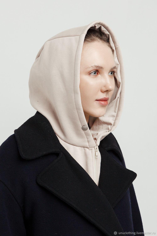 Капор женский бежевый, Капоры, Москва,  Фото №1