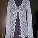 Jacket 'Snowflake'. Suit Jackets. Knitting from Lyudmila Makarova. Online shopping on My Livemaster.  Фото №2