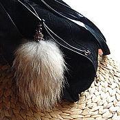 Сумки и аксессуары ручной работы. Ярмарка Мастеров - ручная работа Аксессуар для сумки или рюкзака - меховой хвост. Handmade.
