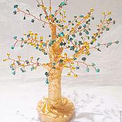 Фен-шуй и эзотерика ручной работы. Ярмарка Мастеров - ручная работа Малахитовое дерево ваш Оберег и Талисман. Handmade.