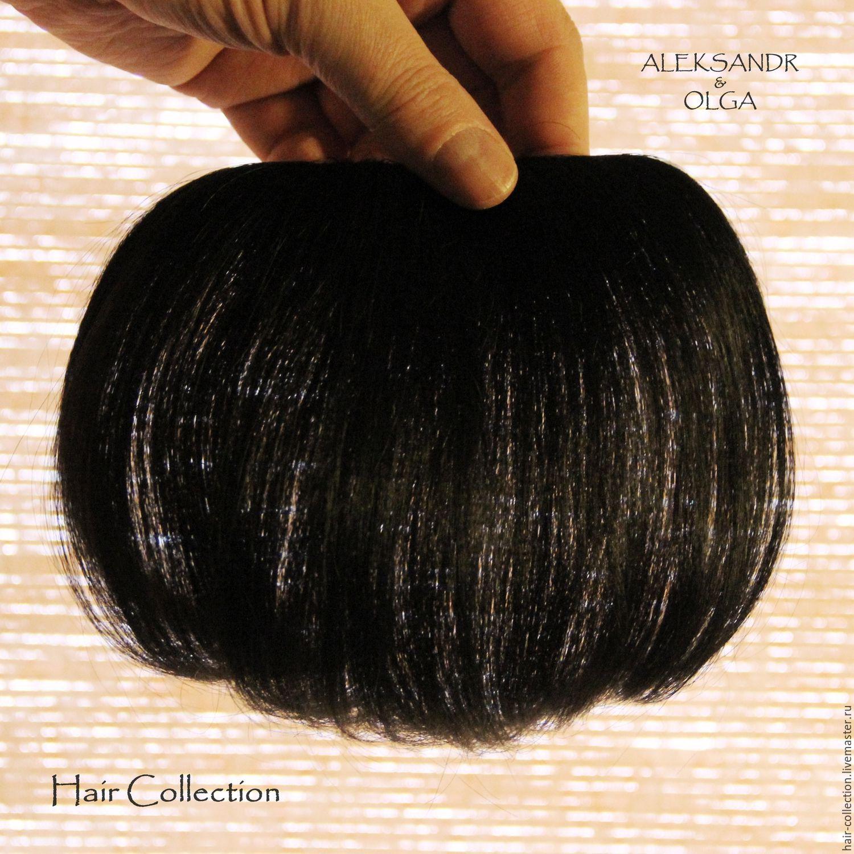 Шиньон своими руками из натуральных волос