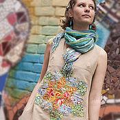 """Одежда ручной работы. Ярмарка Мастеров - ручная работа Платье-бохо """"С цветком"""". Handmade."""