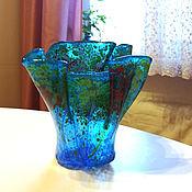Для дома и интерьера handmade. Livemaster - original item Vase of glass. Handmade.