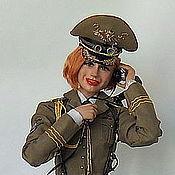 """Куклы и игрушки ручной работы. Ярмарка Мастеров - ручная работа Кукла """"Тайна личной жизни Генерала"""". Handmade."""