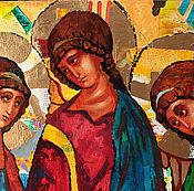 Картины и панно handmade. Livemaster - original item Holy Trinity ( Andrei Rublev). Handmade.