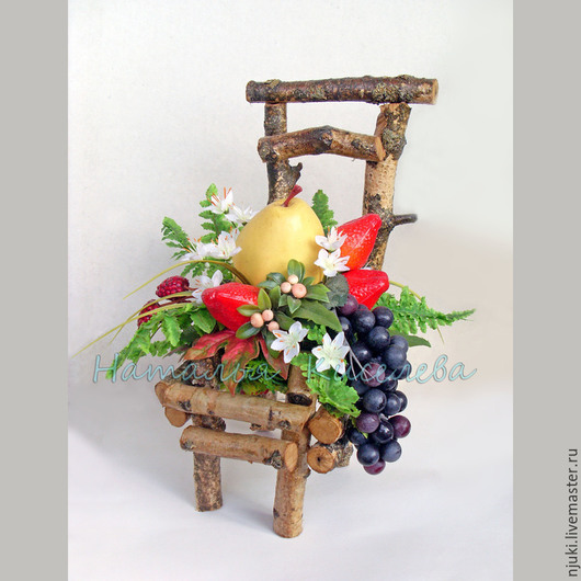 Экстерьер и дача ручной работы. Ярмарка Мастеров - ручная работа. Купить Интерьерный стульчик. Handmade. Украшение интерьера, стульчик