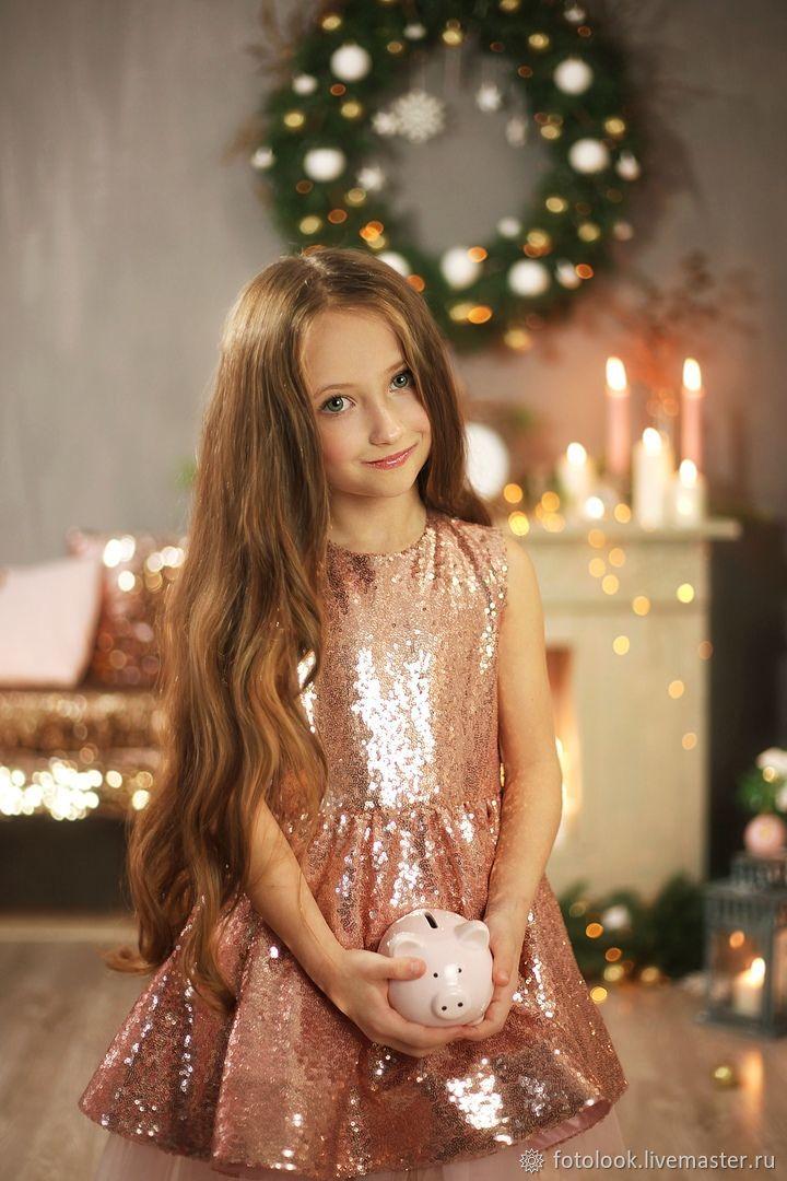 Платье детское Блеск золота