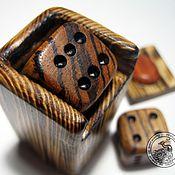 Куклы и игрушки handmade. Livemaster - original item The box with the dice. Handmade.