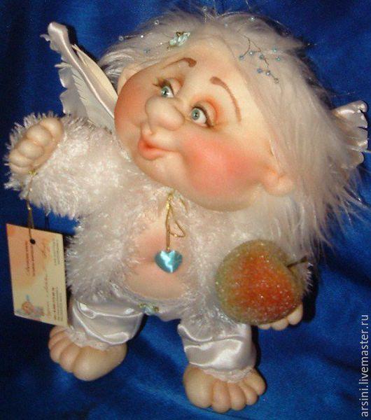 Коллекционные куклы ручной работы. Ярмарка Мастеров - ручная работа. Купить Ангел-Хранитель. Handmade. Ангел, коллекционная кукла, яблоко