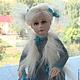 Коллекционные куклы ручной работы. Ярмарка Мастеров - ручная работа. Купить Кити. Handmade. Серый, кружево