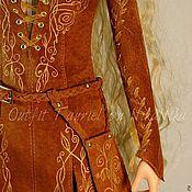 Куклы и игрушки ручной работы. Ярмарка Мастеров - ручная работа Эльфийский костюм для бжд.. Handmade.