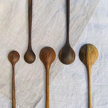 Посуда ручной работы. Ярмарка Мастеров - ручная работа Деревянные ложки. Handmade.
