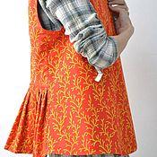"""Одежда ручной работы. Ярмарка Мастеров - ручная работа Безукавка """"Барановские ситцы"""" (ручная набойка). Handmade."""