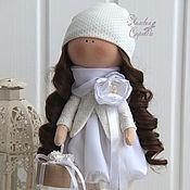 Куклы и игрушки ручной работы. Ярмарка Мастеров - ручная работа Свадебная девочка Натали.. Handmade.