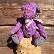 Куклы и игрушки ручной работы. Ярмарка Мастеров - ручная работа Плюшевый мишка Сиреневый сон. Handmade.