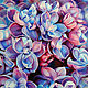 Picture lilac, colored pencils, paper, Pictures, Moscow,  Фото №1