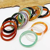 Украшения handmade. Livemaster - original item Set of thin rings 15.75-19 R-R. Handmade.