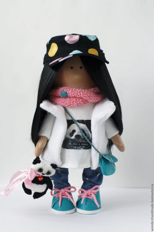 Куклы тыквоголовки ручной работы. Ярмарка Мастеров - ручная работа. Купить Интерьерная кукла с портретным сходством. Handmade. кукла для девочки