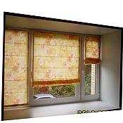Для дома и интерьера ручной работы. Ярмарка Мастеров - ручная работа Римские шторы на створку. Handmade.