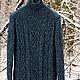 """Кофты и свитера ручной работы. Заказать Свитер """"Твидовый"""".. BALARRI (hand knitting). Ярмарка Мастеров. Свитер вязаный, ирландское вязание"""